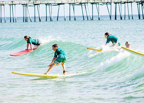 Surfing in OBX